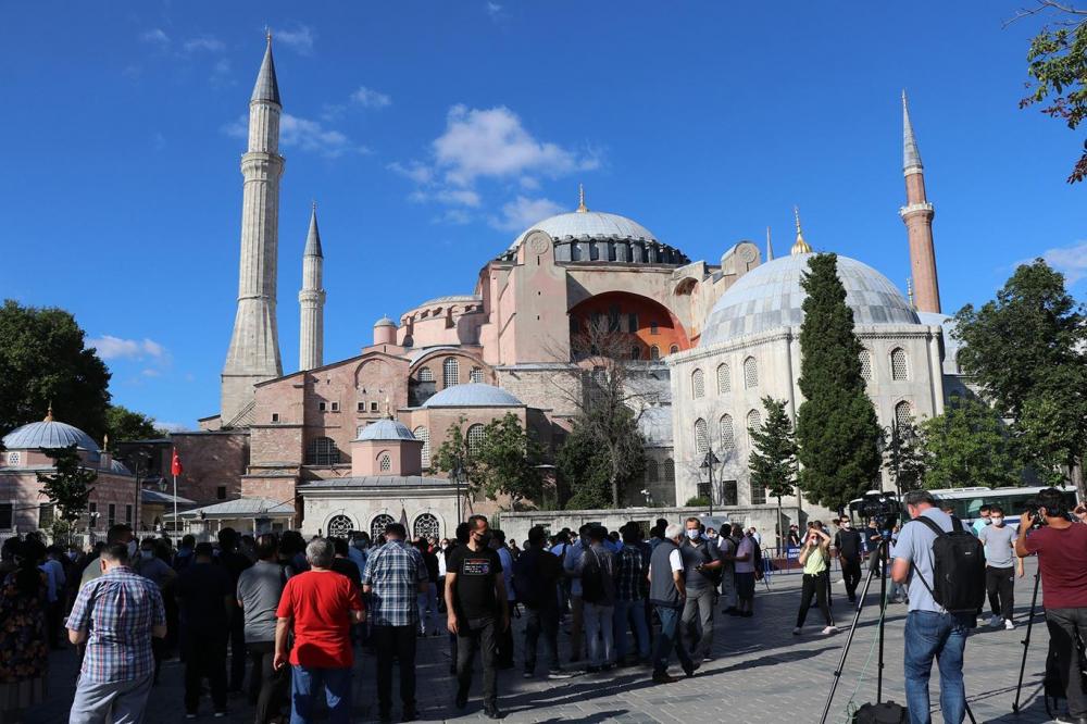 Türkiye'nin Ayasofya adımı sonrası Yunan Partisi'nden skandal çağrı! 8