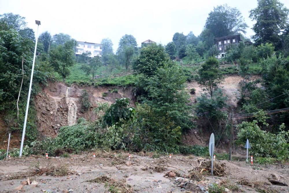 Rize'de meydana gelen selin bilançosu ortaya çıktı 11
