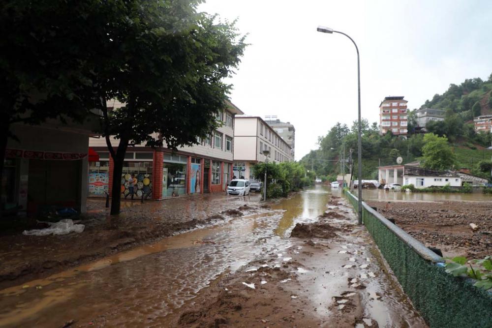 Rize'de meydana gelen selin bilançosu ortaya çıktı 16