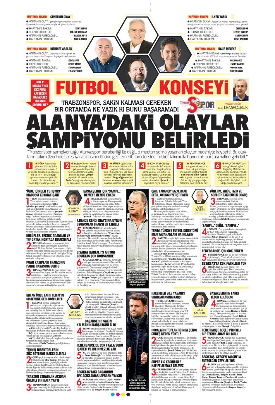 15 Temmuz 2020 günün spor manşetleri! İşte sporda gazete başlıkları 22