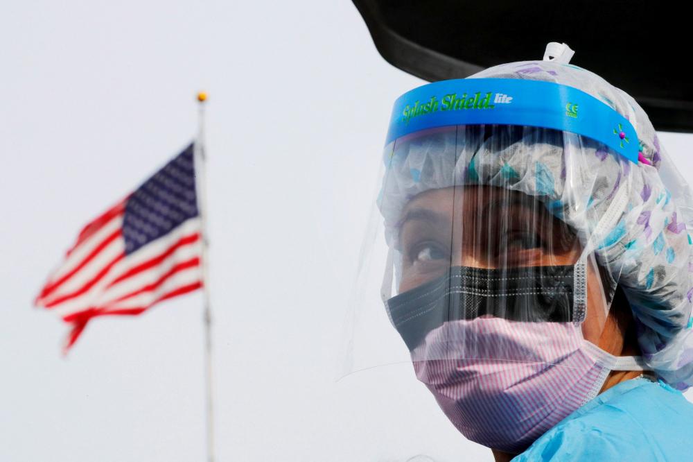 """Beyaz Saray'dan 18 eyalete koronavirüs için """"kırmızı bölge"""" uyarısı yapıldığı ortaya çıktı 8"""