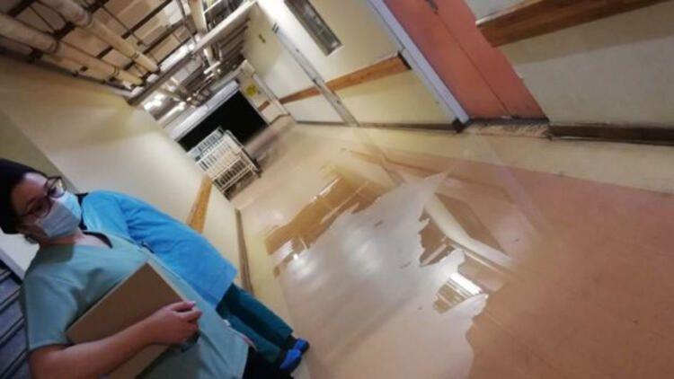 Dünya ayağa kalktı! Koronavirüs hastanesinde şok eden görüntüler! 2