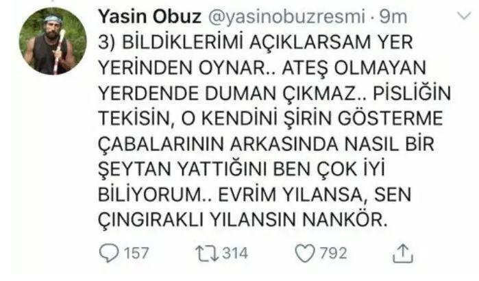 Yasin Obuz, Nisa'ya verdi veriştirdi! 4