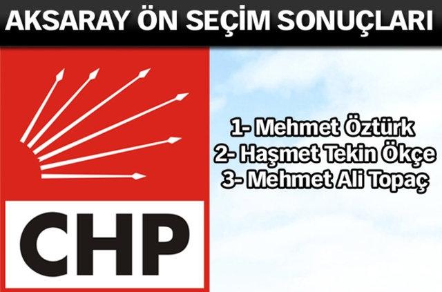 CHP İl, İl Ön Seçim Sonuçları 7