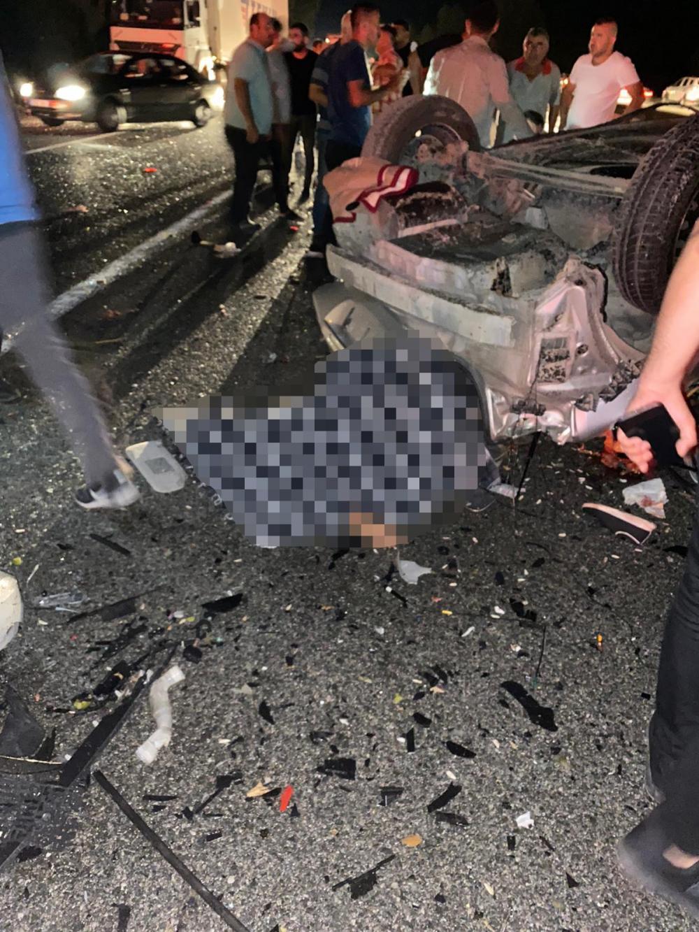 Bursa'da can pazarı! Korkunç kazada 4 kişi öldü, 6 kişi yaralandı 2