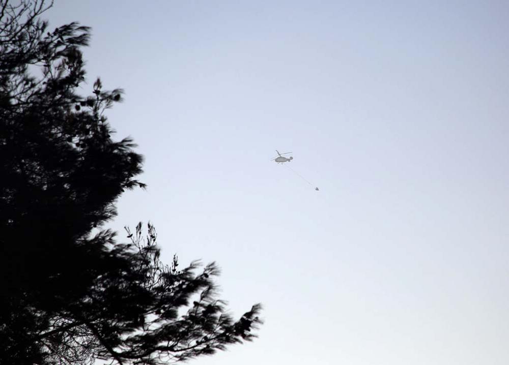 Adana Kozan'daki orman yangınını söndürmek için çalışmalar sürüyor 1