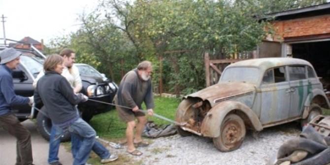 Hurda otomobili bakın ne hale getirdiler!