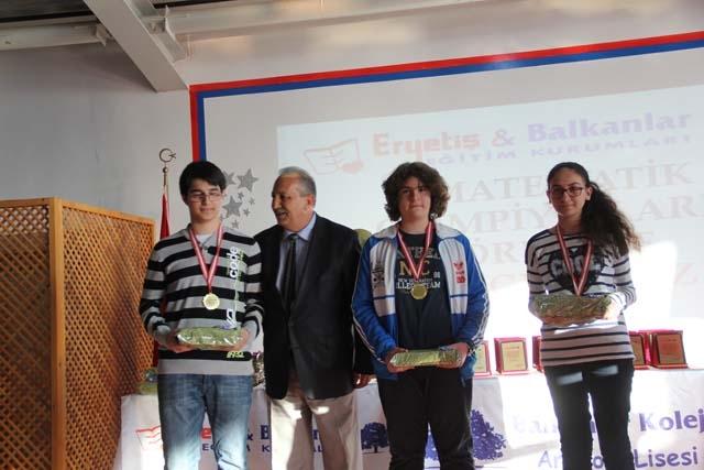 Balkanlar Koleji Matematik Olimpiyatları Ödül Töreni - Foto Galeri 16