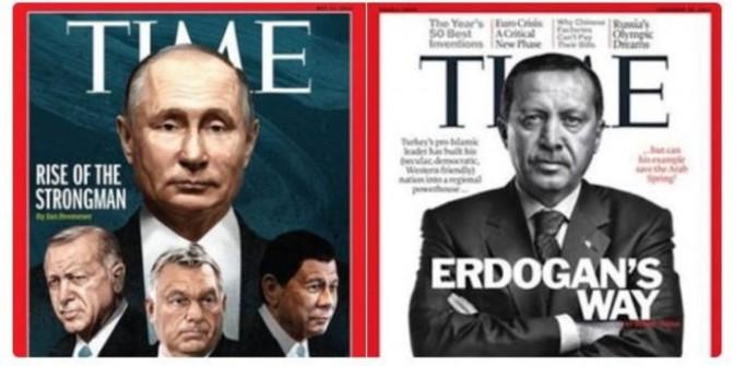 Erdoğan 2. kez Time dergisinin kapağında!