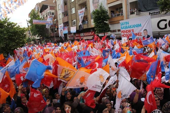 Pendik, Ahmet Davutoğlu'nu Çamçeşme'de ağırladı - FOTO GALERİ 1
