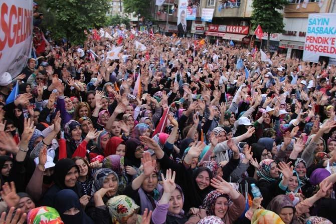 Pendik, Ahmet Davutoğlu'nu Çamçeşme'de ağırladı - FOTO GALERİ 2