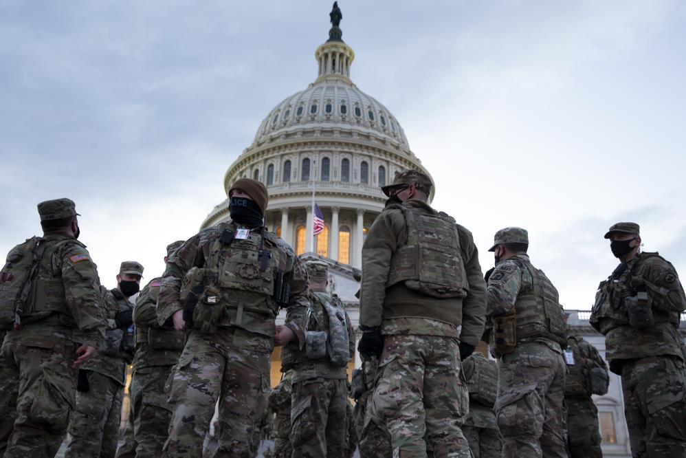 Biden'ın yemin töreninde görevli 12 muhafız görevden alındı 1