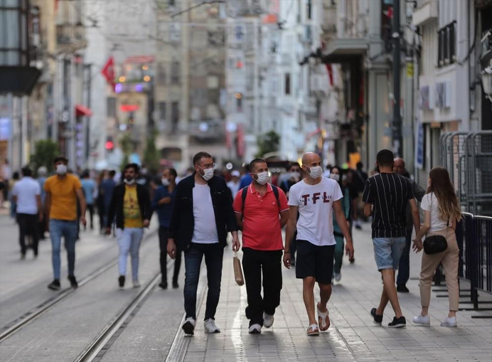 Kısıtlamalar etkisini gösteriyor: İşte ilçelere göre yeşile dönen İstanbul koronavirüs risk haritası 1