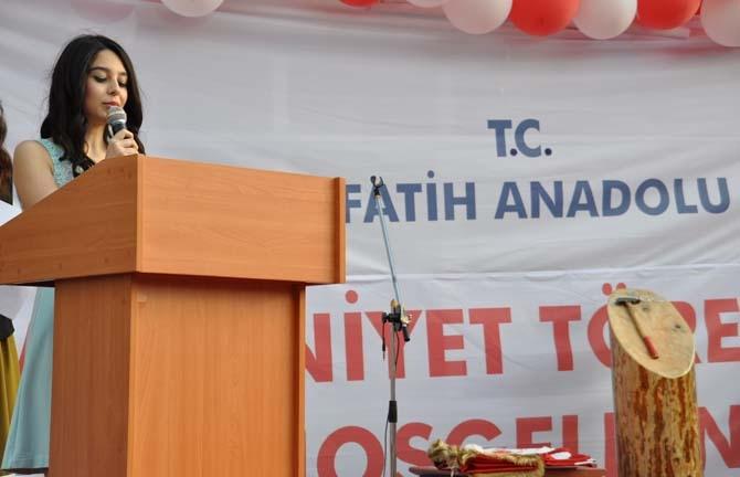 Fatih Anadolu'da Lisesi Mezuniyet töreni - Foto Galeri 1