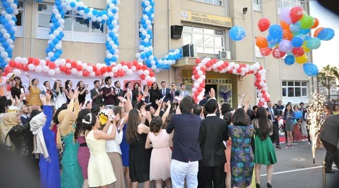 Fatih Anadolu'da Lisesi Mezuniyet töreni - Foto Galeri 13