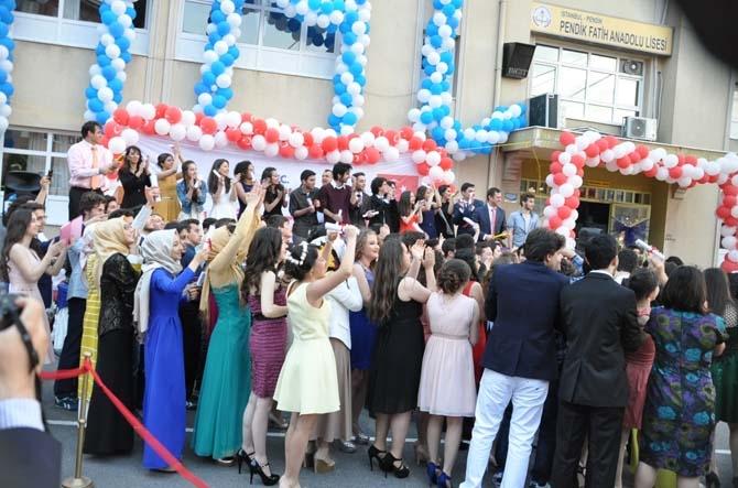 Fatih Anadolu'da Lisesi Mezuniyet töreni - Foto Galeri 15