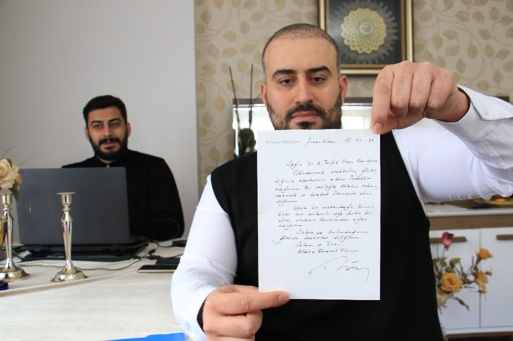 22 yıllık mektup: Cumhurbaşkanı Erdoğan cezaevindeyken, Dr. Ahmet Tevfik Ozan'a göndermiş 1