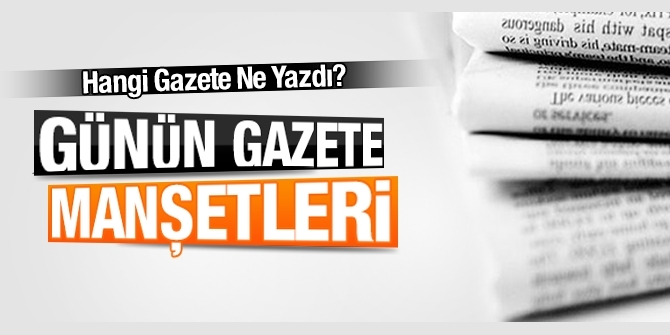 Gazete manşetleri 28 Mayıs 2018 Hürriyet - Sözcü - Habertürk