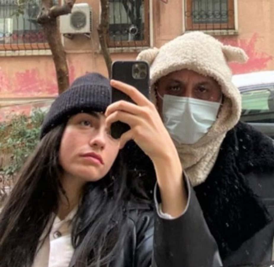 Hazar Ergüçlü- Onur Ünlü çifti giyimleri ile sosyal medyada olay yarattı! 1
