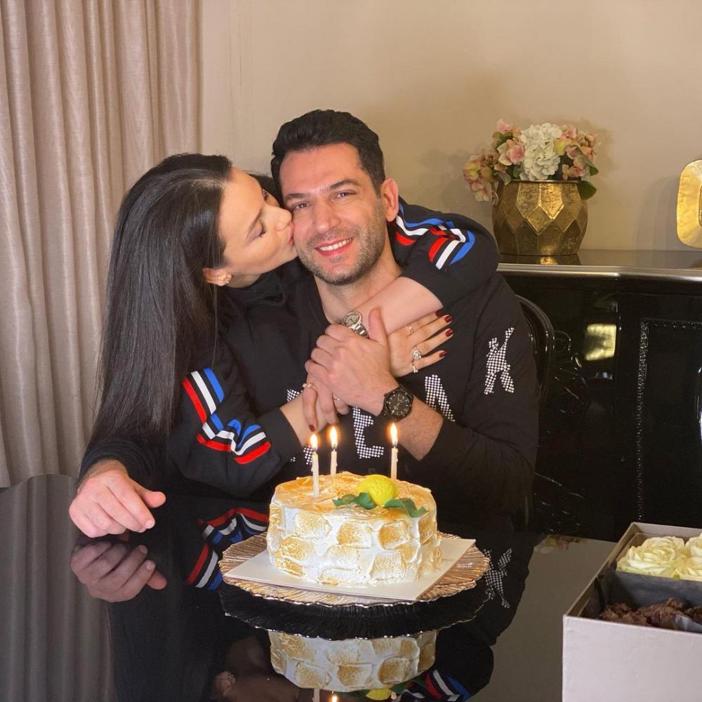 Iman Elbani, eşi Murat Yıldırım'ın doğum gününü kutladı! 1