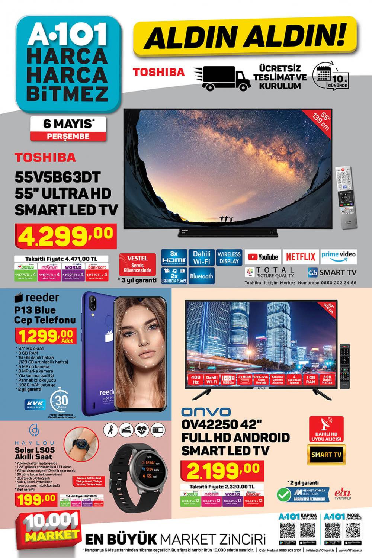 7 Mayıs A101 aktüel ürünler kataloğu | A101 Aldın Aldın kataloğu yepyeni ürünleri! 1
