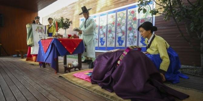 Güney Korelilerin düğün kültürü