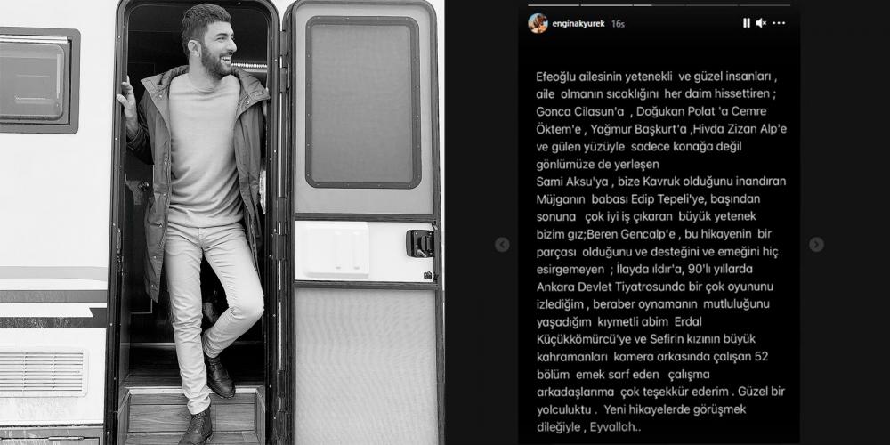 Dizisi final yapan Engin Akyürek'ten şaşırtan hareket: Neslihan Atagül ve Uraz Kaygılaroğlu'na teşekkür etmedi! 1