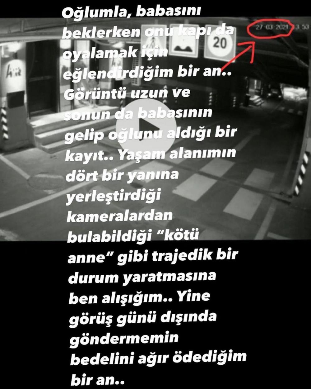 Özcan Deniz'in eski eşi Feyza Aktan'tan sitem dolu paylaşımlar! 1