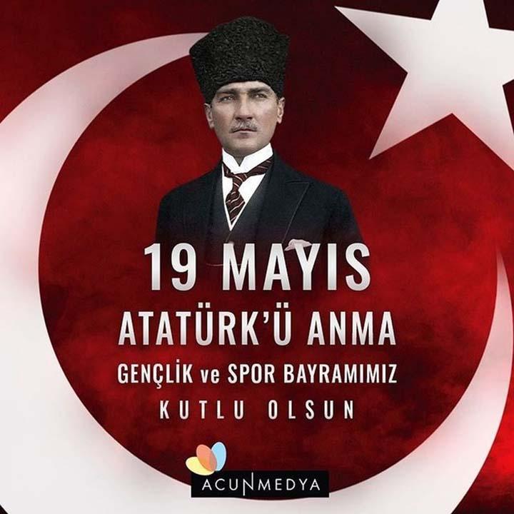 Ünlülerin, 19 Mayıs Atatürk'ü Anma Gençlik ve Spor Bayramı paylaşımları 1