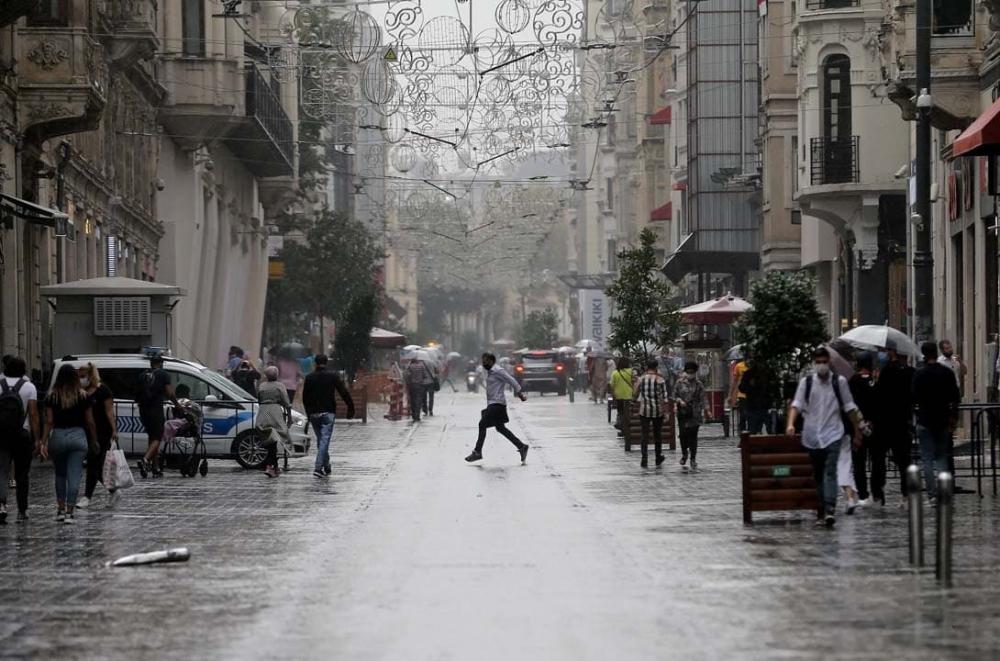 Uzmanlardan uyarılar üst üste geliyor: Marmara'ya sarı kodlu uyarı! Sıcaklıklar düşecek, gök gürültülü yağmur geliyor! 5