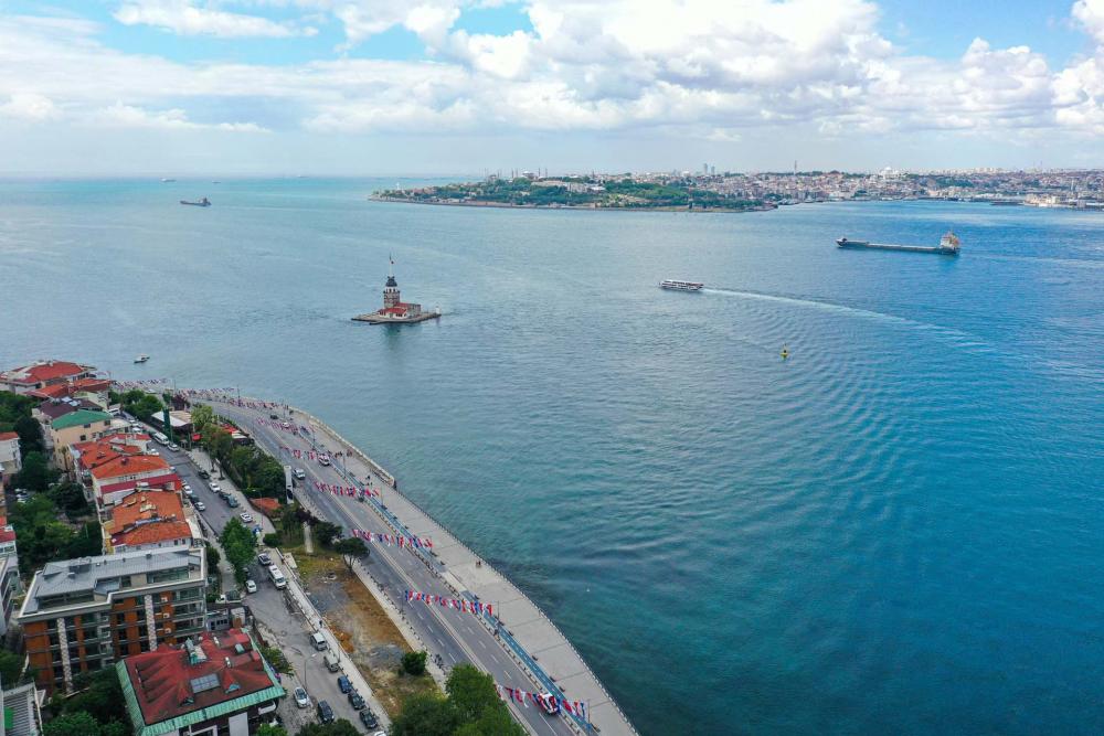 Sokağa çıkma kısıtlamasında Kadıköy Meydanına sessizlik çöktü! 12