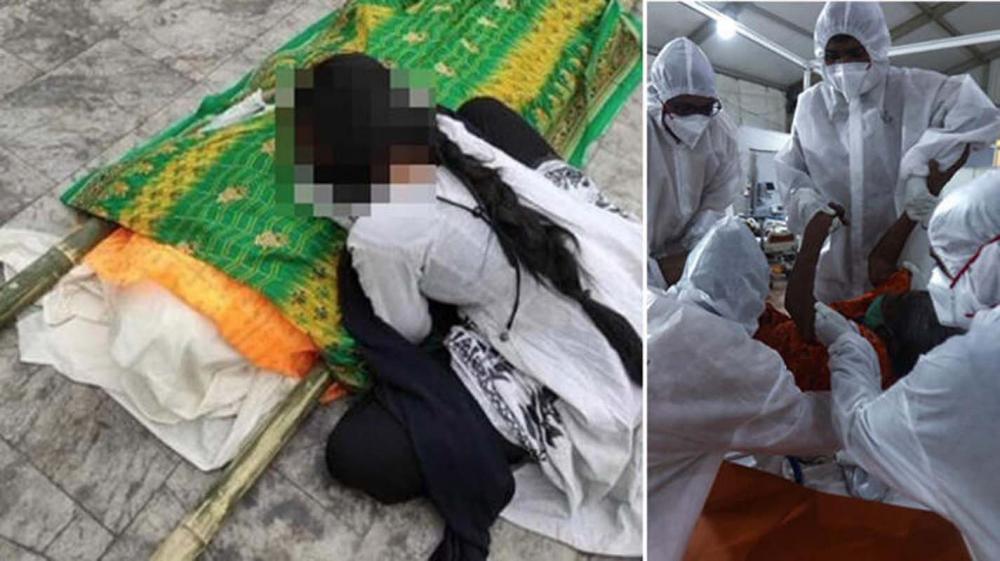 Hindistan'da skandal! Koronavirüs hastasına toplu tecavüz edip susması için entübe ettiler! 1