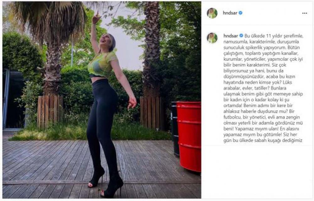 Habertürk'ten kovulan Hande Sarıoğlu'nun olay paylaşımı! Sosyal medya sallandı! 6