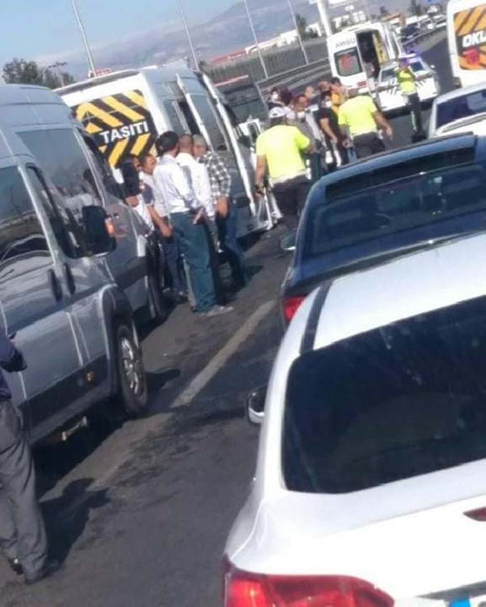 Malatya'da zincirleme trafik kazası! Ortalık savaş alanına döndü: 21 yaralı 2