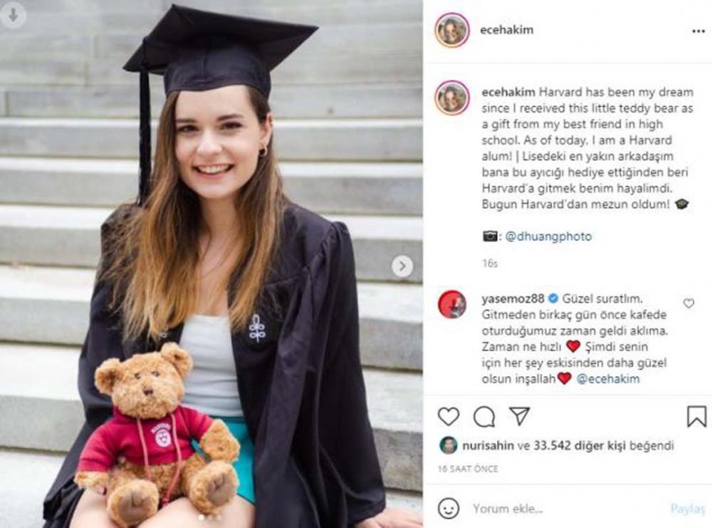 Ece Hakim müjdeli haberi duyurdu: Harvard'dan mezun oldu! 3