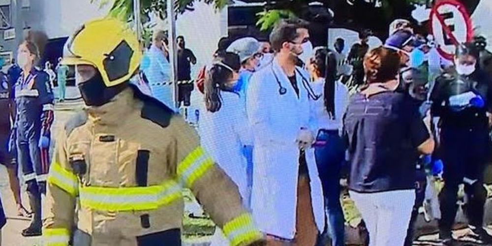 Ülke şokta! Hastanede yangın: 4 kişi yaşamını yitirdi 3