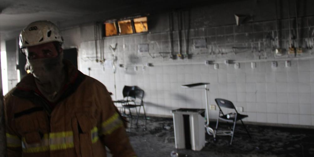 Ülke şokta! Hastanede yangın: 4 kişi yaşamını yitirdi 4