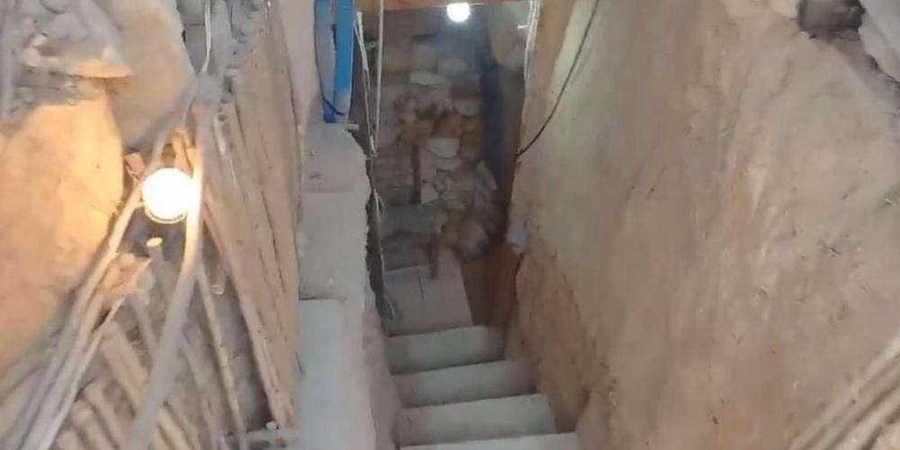Yüzleri gülümseten olay! Ailesine kızdı, evlerinin arka bahçesini kazarak yeraltında kendine ev inşa etti 5