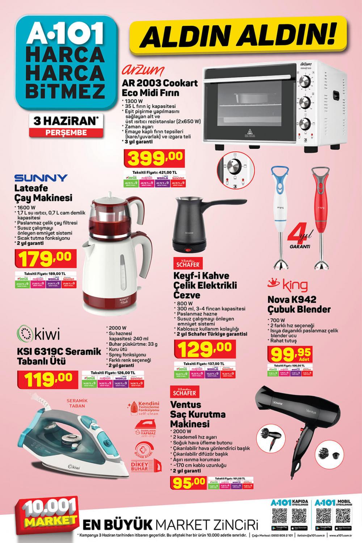 "9 Haziran A101 aktüel ürünler kataloğu   Toshiba 58UL2063DT 58"" Ultra HD Smart Led TV A101'de! 11"