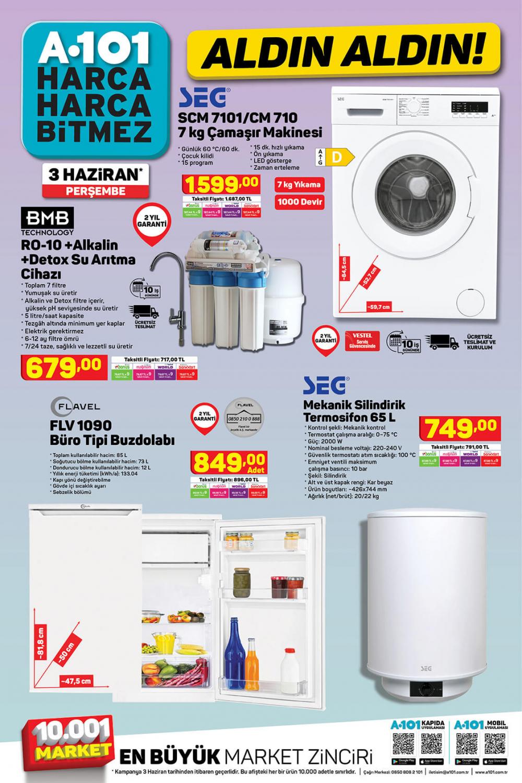 "9 Haziran A101 aktüel ürünler kataloğu | Toshiba 58UL2063DT 58"" Ultra HD Smart Led TV A101'de! 8"