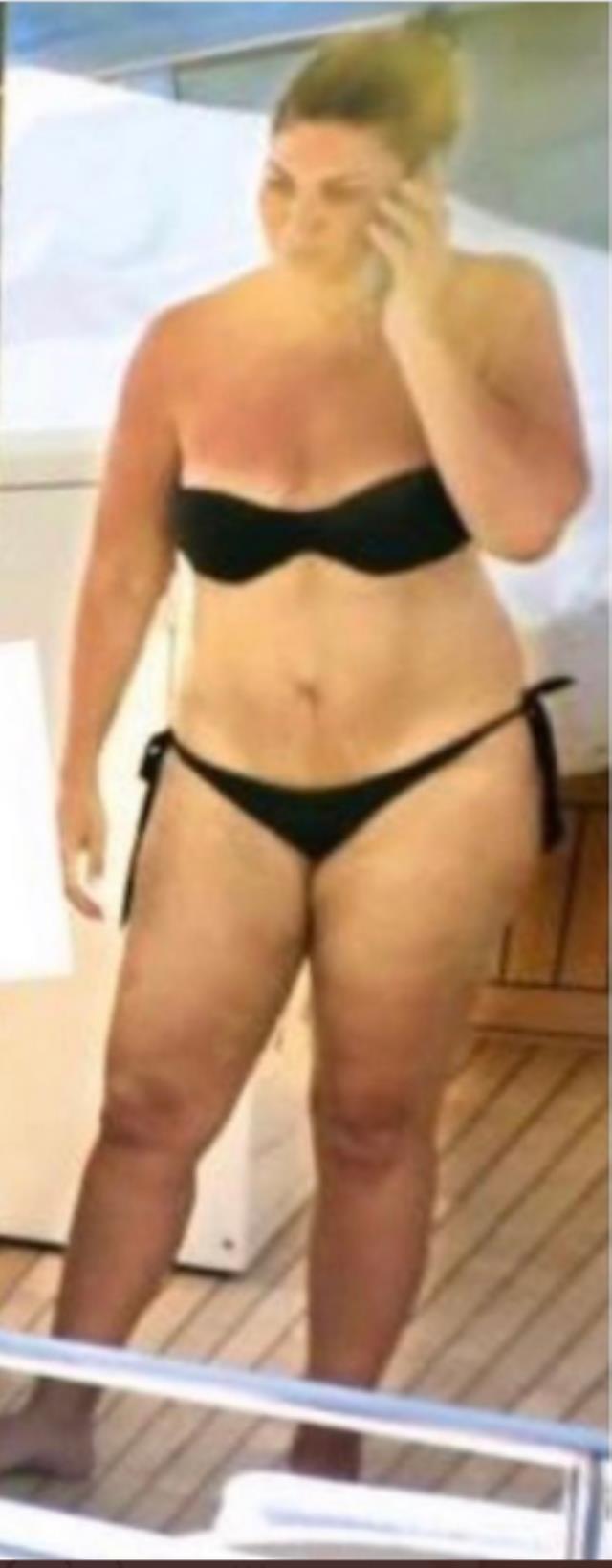 Sibel Can yıllar sonra ilk kez bikinili görüntülendi! Aldığı kilolar gözden kaçmadı! 5