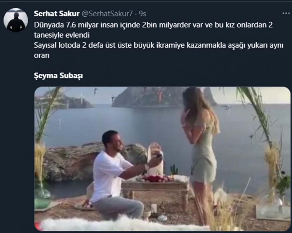Şeyma Subaşı muradına eriyor! Evlilik teklifi aldı, sosyal medya yıkıldı! 10