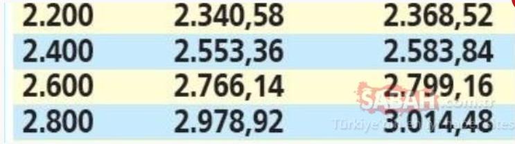 Emekliye temmuz zammı için geri sayım başladı: İşte zamdan sonra en düşük ve en yüksek emekli maaşları! 14