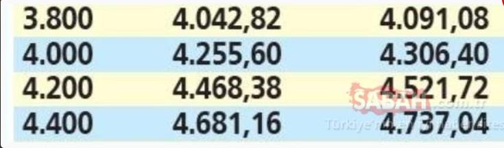 Emekliye temmuz zammı için geri sayım başladı: İşte zamdan sonra en düşük ve en yüksek emekli maaşları! 16