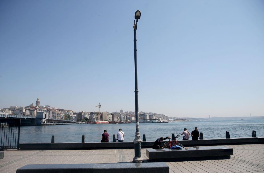 Dün insan kaynıyordu, bugün kimse yok! İşte sokağa çıkma kısıtlamasında İstanbul'dan fotoğraflar 2