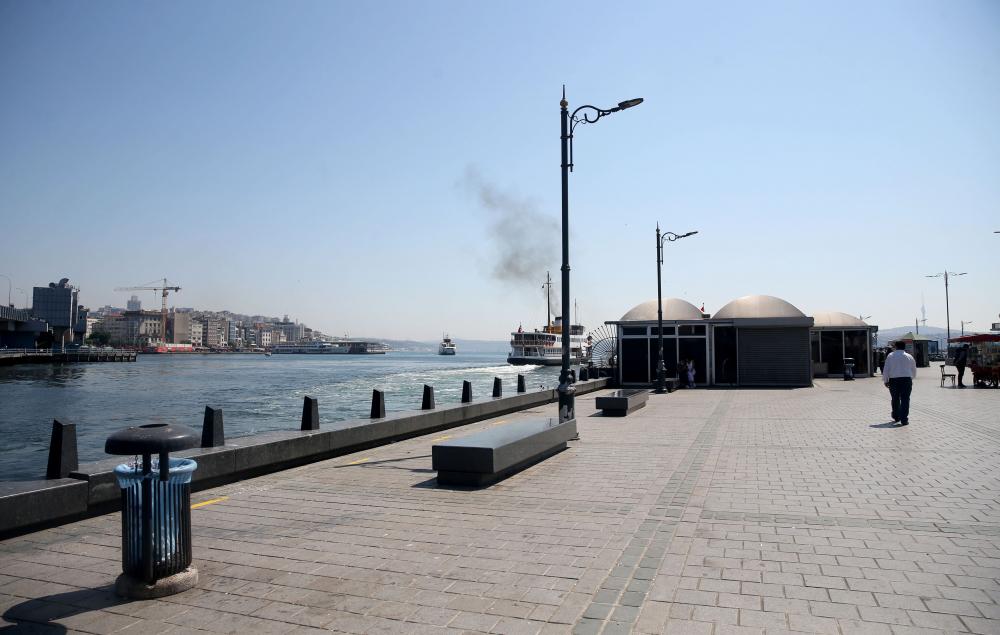 Dün insan kaynıyordu, bugün kimse yok! İşte sokağa çıkma kısıtlamasında İstanbul'dan fotoğraflar 4