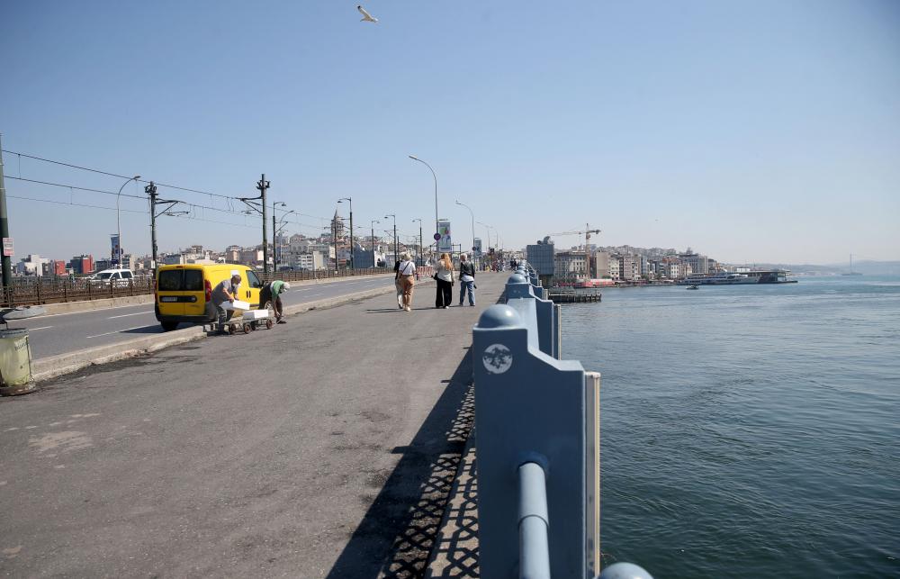 Dün insan kaynıyordu, bugün kimse yok! İşte sokağa çıkma kısıtlamasında İstanbul'dan fotoğraflar 7