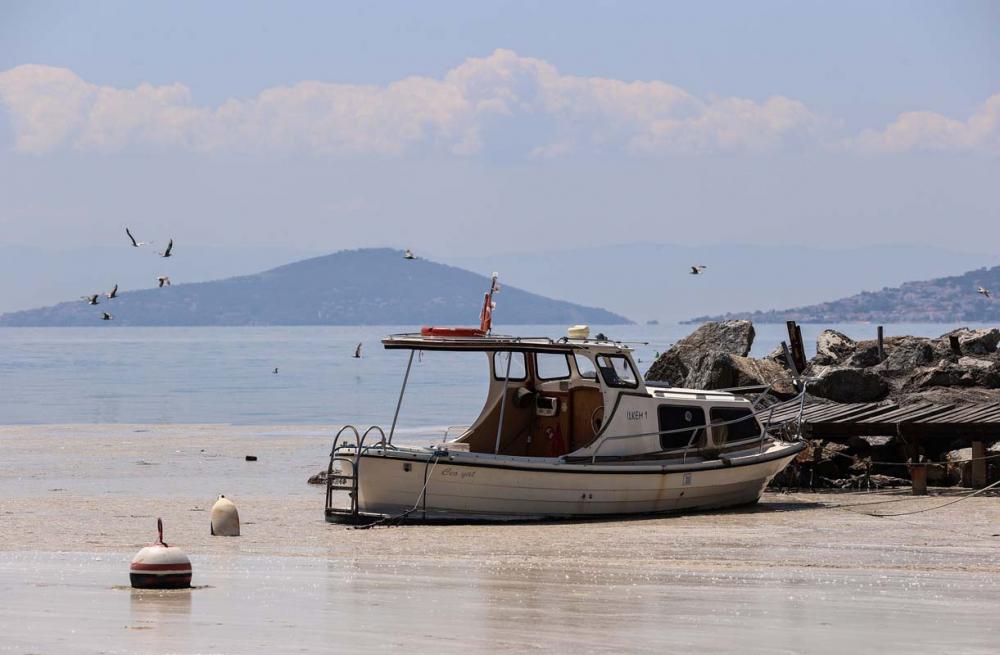 Deniz salyası Marmara'yı esir aldı! Manzara görenleri ürkütüyor! 3