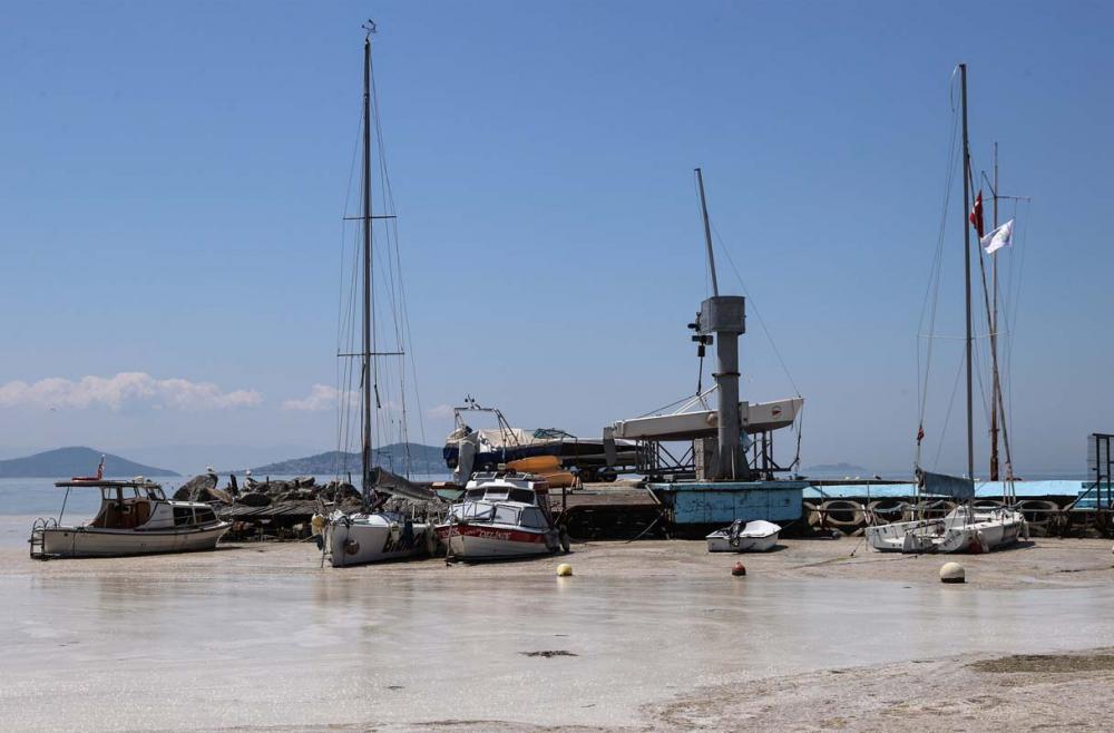 Deniz salyası Marmara'yı esir aldı! Manzara görenleri ürkütüyor! 6