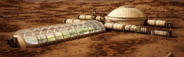 Mars'a yapılacak konutları NASA tanıttı... 1